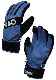 Oakley Factory Winter 2 Ski Snowboard Gloves Xl Dark Blue