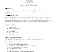 Resume For Marketing Job Example Cover Letter For Resume Marketing ...