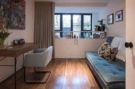 guest bedroom office. perfect bedroom industrial bedroom by kirkwood mccarthy intended guest office