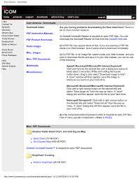 Icom America Downloads Manualzz Com