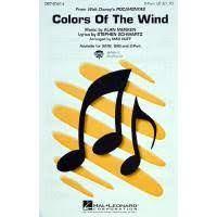 Colors of the wind aus Pocahontas - Notenbuch.de