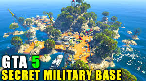 gta 5 pc mods secret military island base (gta 5 map mod) youtube Map Gta 5 Map Gta 5 #24 mapgta5hiddengems