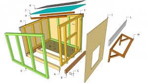 large dog house plans. Perfect Large Large Dog House Components With Dog House Plans O
