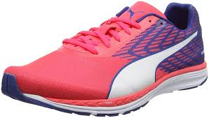 puma shoes pink and blue. puma men\u0027s speed 100 r ignite running shoes: amazon.co.uk: shoes \u0026 bags pink and blue 2