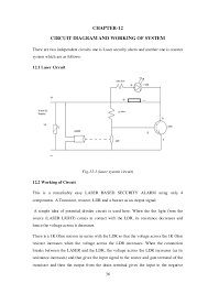 laser security alarm thesis 47 36 chapter 12 circuit diagram