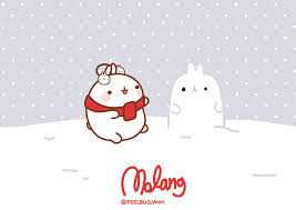 Wallpaper Navidad Molang by leyfzalley.deviantart.com on ...