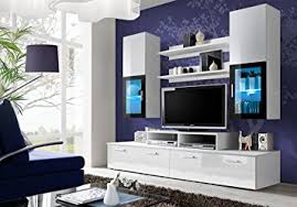 Wall Unit Furniture Living Room Modern TV Cabinet Wall Units Living
