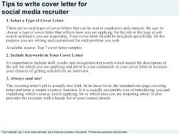 cover letter description recruiter cover letter examples corporate recruiter job description