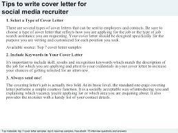cover letter description recruiter cover letter examples corporate recruiter job description