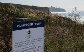 Image result for Pillar Point bluff coastal trail picture