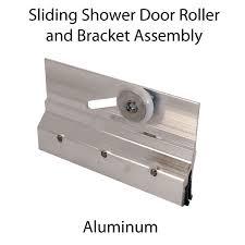 m6053 prime line frameless sliding shower door 3 4 inch roller and