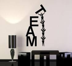 teamwork office wallpaper. Vinyl Wall Decal Team Work Teamwork Office Business Word Stickers (ig4656) Wallpaper