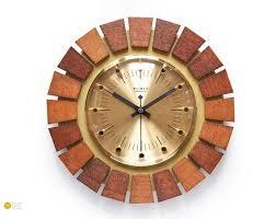 mid century weimar germany wall clock