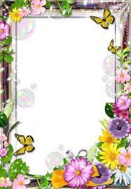 Frames For Photoshop Flower Frame For Photoshop Spring Story Transparent Png