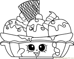 Free Shopkins Coloring Pages Cropmobatl Free Shopkins Coloring