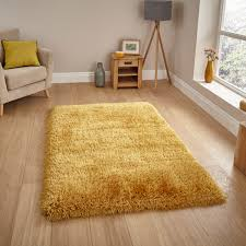 montana yellow plain gy rug by think rugs 1
