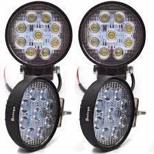 12 Volt Led Automotive Flood Lights Safego 4pcs 27w Led Worklight Flood Spot Beam Auto Led Work Lights 12 Volt 24v Working Light Lamp Offroad 4x4 Atv Car Trucks