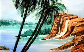 painting tips and tricks painting a palm tree