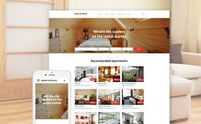 Real Estate Website Templates Beauteous Real Estate Responsive Website Template 48
