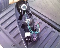 how to changing tail lights tacoma world now plug the new wiring harness into the old wiring harness and push it togethor until you hear the little tab click