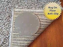 sticky discs non slip rug pads for rug on floor anti slip