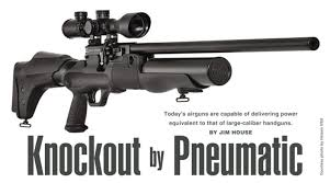 Airgun Fpe Chart Todays Airguns Deliver Power Equivalent To Large Caliber