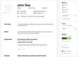 Make A Resume Free Online Fascinating Create An Online Resume This Is Create Resume Online Best Free