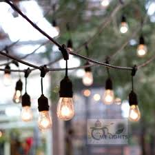 outdoor party string lights outdoor globe string lights connectable festoon party string holiday garland cafe bar outdoor party string lights