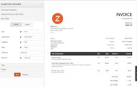 Invoice Style Zoho Invoice Pricing Features Reviews Comparison Of Alternatives 19