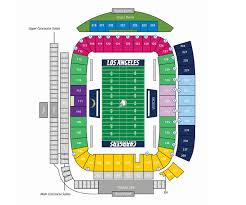 Stubhub Center Football Seating Chart Stubhub Center Map Map 2018
