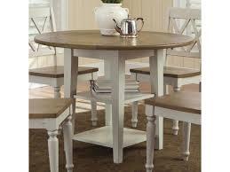 Liberty Furniture Al Fresco Iii 841 T4242 Round Drop Leaf Dining Leg