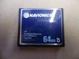 Navionics Gold Chart Cartridge Navionics Gold Cf Chart Card Us Southeast Bahamas Cf 1g906xl3 64mb Tested