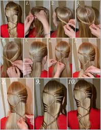 Hairstyles For School Step By Step This Amazing And Beautiful Hairstyle Can Match For Any Dress And
