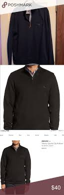 Ted Baker London Men S Size Chart Ted Baker Zip Funnel Neck Jumper Pullover Shirt
