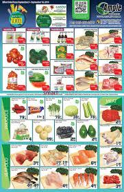 ample foods flyer ample food market flyer september 9 to 15