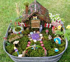 fairy gardens. Beautiful Gardens With Fairy Gardens
