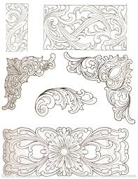 Carving Patterns Classy Related Image Leather Patterns Pinterest Wood Carving Patterns