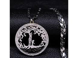 Náhrdelník Strom života Nerez Ocel