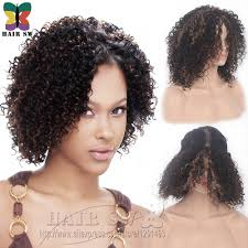 Natural Hair Style Wigs lace front deep invisible l part synthetic short wig natural jerry 3785 by stevesalt.us