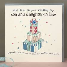 wedding gifts son daughter law ~ imbusy for Handmade Wedding Cards For Daughter And Son In Law molly mae \u003e son and daughter in law wedding or anniversary card Anniversary Son and Daughter in Law