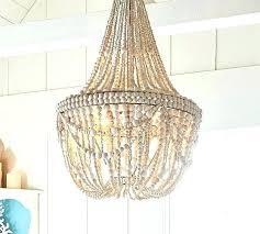 wood bead chandelier beaded small world market wooden