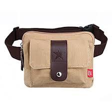 Genda 2Archer <b>Classic</b> Leather <b>Waist Bag Fanny Pack</b> Bum Bag Hip ...