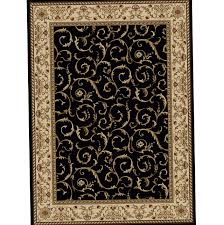 black and tan area rug