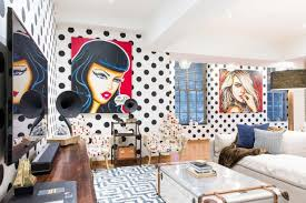 pop art room wallpaper