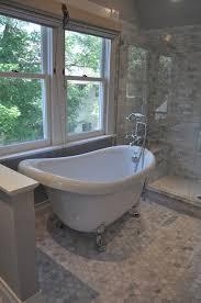 Clawfoot Tub Bathroom Ideas Mesmerizing Blank And Baker Beautiful Master Bathroom With Clawfoot Tub And