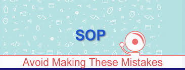 Mistakes You Should Avoid While Writing Sop For Colleges