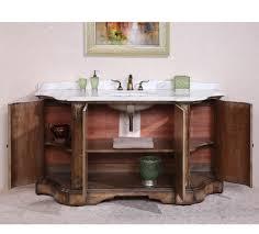 Legion Bathroom Vanity Legion Furniture Wh3468 68 Solid Wood Sink Vanity With Marble Top