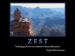 zest quotes