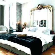 Mirror Headboard Bed Large As Mirrored Bedroom Furniture Above Set ...