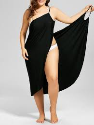 plus size cover up swimwear black 3xl plus size cover up wrap dress gamiss